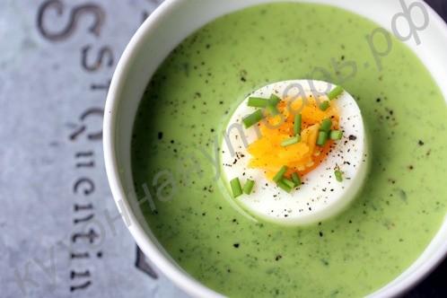 Рецепт суп пюре из шпината